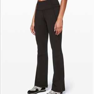 Lululemon High Waisted Groove Flare Pants Size 6
